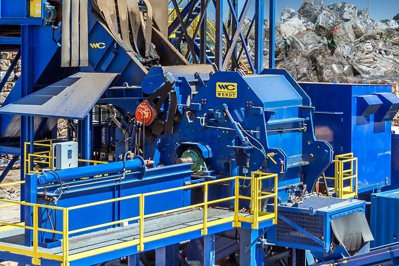 Aluminum Shredding | WENDT CORPORATION