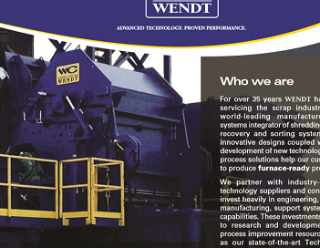 Aluminum Shredding & Sorting | WENDT CORPORATION