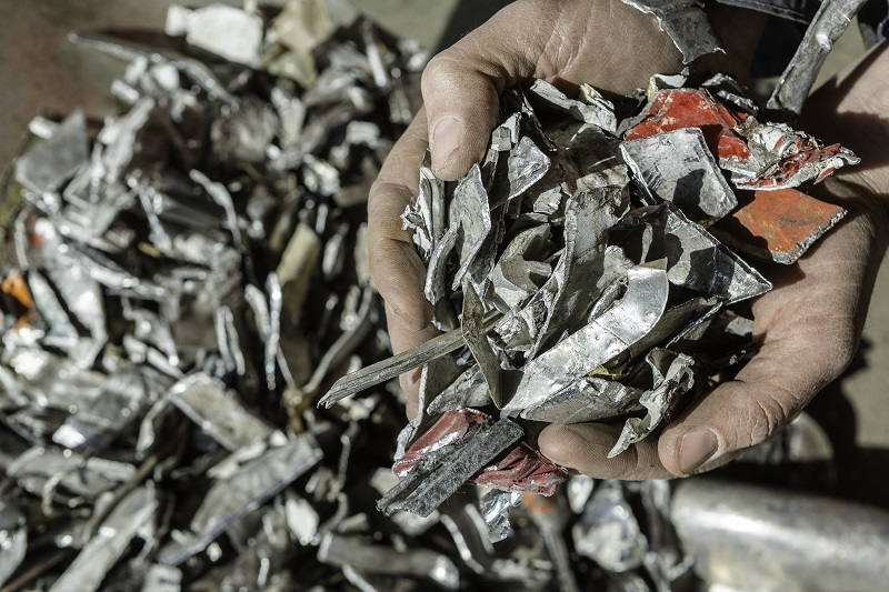 Shredded Aluminum | WENDT CORPORATION