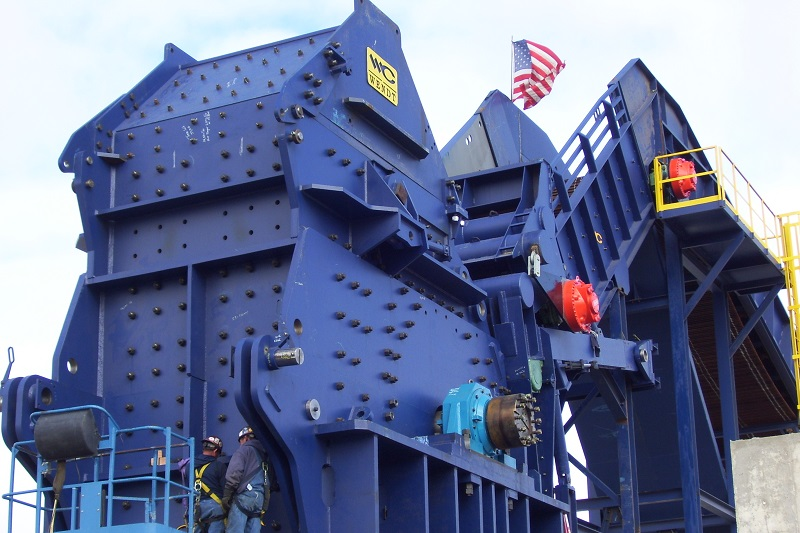 HEAVY Hammermill Automobile Shredders | WENDT CORPORATION