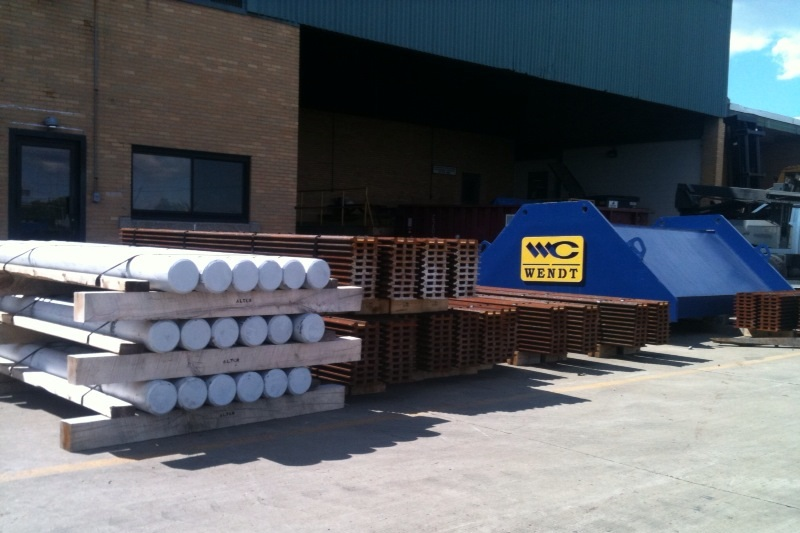 WENDT Wear Parts | Hammer Pins | Grousers