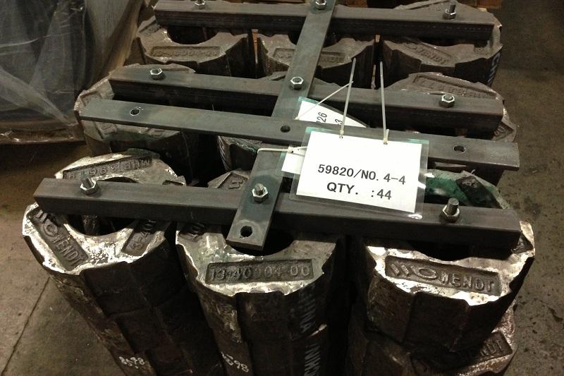 WENDT Shredder Castings   Pin Protectors