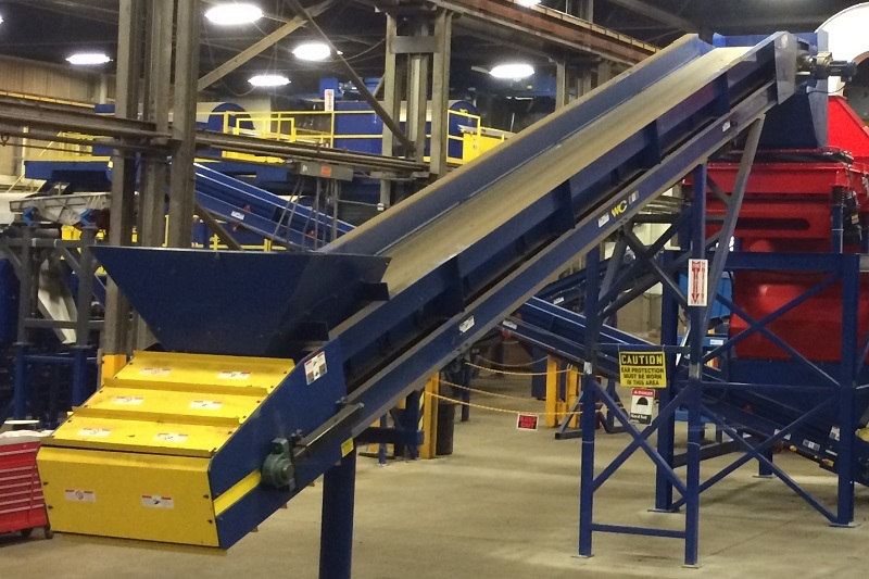 Ferrous Belt Conveyor | WENDT CORPORATION