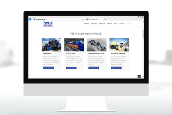 Website Launch | WENDT CORPORATION