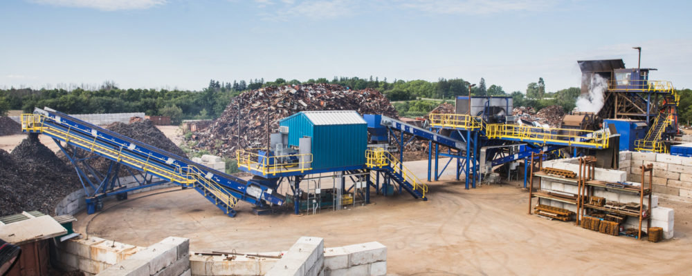 M6090 Modular Shredding Plant