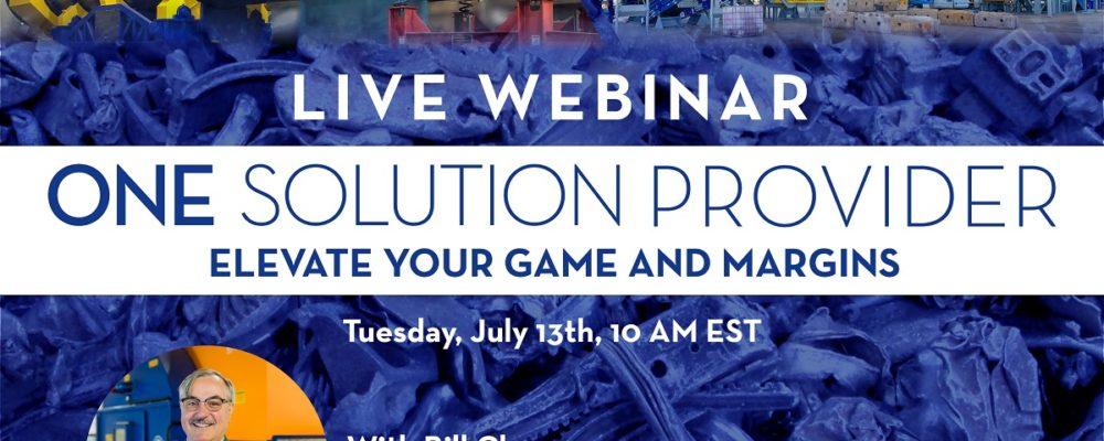Elevate Your Game & Margins Webinar